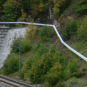 Elevated Troughing Esslingerbergtunnel
